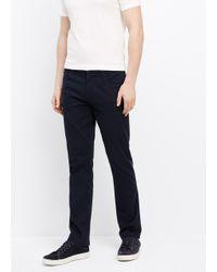 Vince - Blue Essential 5-pocket Soho Trouser for Men - Lyst