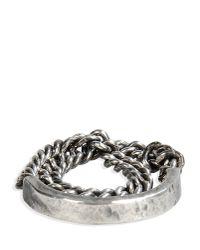 M. Cohen - Metallic Ring for Men - Lyst