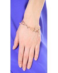 Vivienne Westwood Metallic Skeleton Bracelet