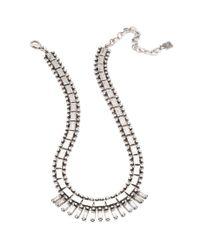 DANNIJO | Metallic Caius Necklace | Lyst