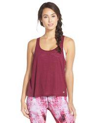 Alo Yoga | Purple Twist Tank Top | Lyst