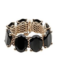 Valentino | Black Bracelet | Lyst