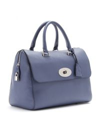 Mulberry Blue Del Rey Leather Tote