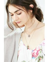 Urban Outfitters | Metallic Tobias Necklace Set | Lyst