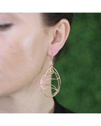 Lucifer Vir Honestus - Metallic Cicaloni Openwork Earrings - Lyst
