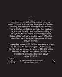ALEX AND ANI - Metallic Life Preserver Expandable Wire Bangle, Charity By Design Collection - Lyst