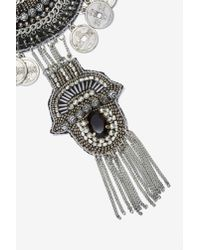 Nasty Gal - Metallic Archana Beaded Necklace - Lyst