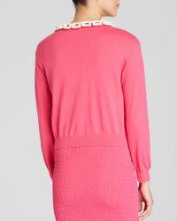Boutique Moschino Pink Cardigan - Bone Chain
