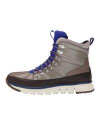 Cole Haan Gray Zerogrand Sport Boot for men