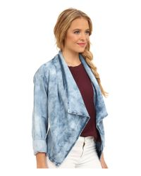 Volcom - Blue Rolling High Shirt Jacket - Lyst