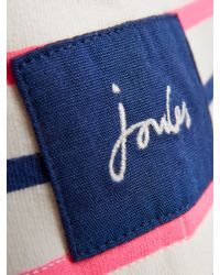 Joules Blue Cowdray Stripe Sweater