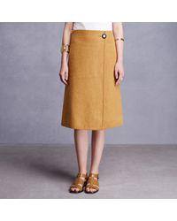 Trademark   Metallic Vase Wrap Skirt   Lyst