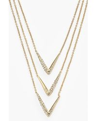 Alexis Bittar | Metallic 'miss Havisham' Multistrand Necklace | Lyst