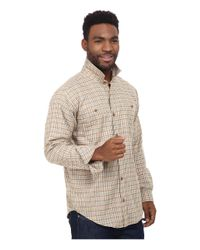 Patagonia | Natural L/s Pima Cotton Shirt for Men | Lyst