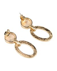 Christian Lacroix - Metallic Earrings - Lyst
