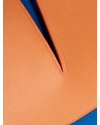 Jil Sander   Brown View Medium Suede and Leather Shoulder Bag   Lyst