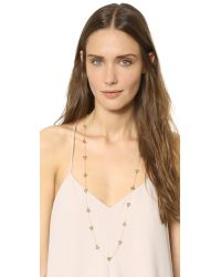 House of Harlow 1960 | Metallic Cerro Torre Station Necklace - Gold | Lyst