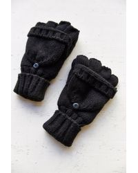 Urban Outfitters | Black Thinsulate Convertible Glove for Men | Lyst