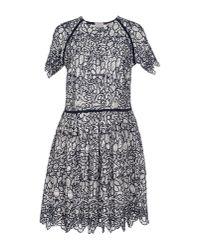 Manoush - Black Short Dress - Lyst