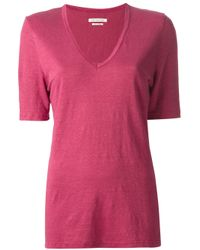 Étoile Isabel Marant   Red Granger T-shirt   Lyst