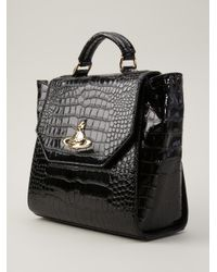 be634c6ca4f Vivienne Westwood New Chancery Tote in Black - Lyst