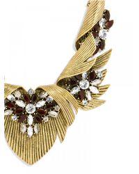 BaubleBar - Metallic Firebird Collar - Lyst