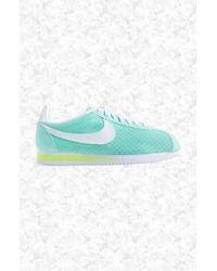 Nike - Blue 'classic Cortez' Sneaker - Lyst