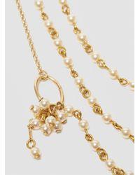 Medecine Douce - Metallic Charleston Necklace Pearl - Lyst