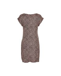 Soaked In Luxury - Multicolor Animal Print Dress - Lyst