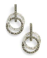 Judith Jack Metallic 'rings & Things' Drop Earrings