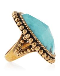 Stephen Dweck | Blue Oval Turquoise Ring | Lyst