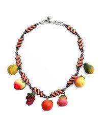 Lulu Frost - Multicolor Fruit Menagerie Necklace - Lyst