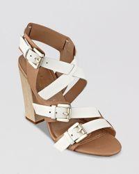 Ivanka Trump   Brown Sandals - Berni High Heel   Lyst