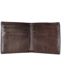 Lacoste Brown Classic Premium Small Billfold for men