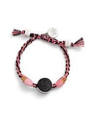 Venessa Arizaga | Pink 'cookies And Cream' Friendship Bracelet | Lyst