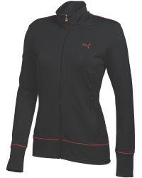 PUMA   Black Pwrwarm Golf Jacket   Lyst