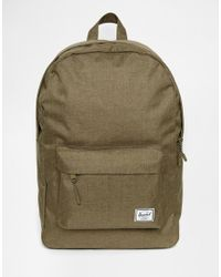 Herschel Supply Co. | Green Classic Backpack 22l for Men | Lyst