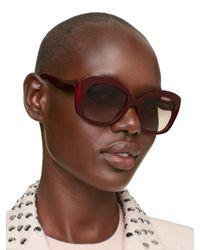 kate spade new york Purple Jakalyn Sunglasses