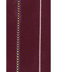 Marni Purple Hejira Stripe Knit Tank Top