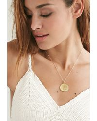 Forever 21 - Metallic Moon And Lola Medium Dalton K Necklace - Lyst