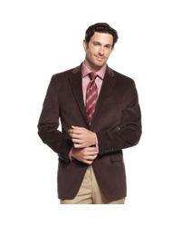 Lauren by Ralph Lauren Brown Jacket Corduroy Sportcoat with Elbow Patches for men
