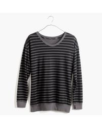 Madewell - Gray Skargorn&Trade; #88 Sweatshirt Tee In Stripe - Lyst