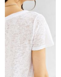 Project Social T | White Cassidy Tee | Lyst