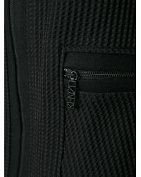 KENZO Black Zip Front A-Line Dress