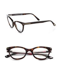 Tom Ford - Black Cat'S-Eye Optical Glasses - Lyst