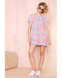 Nasty Gal | Multicolor Lazy Oaf Sunglasses Dress | Lyst