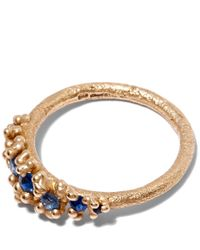 Ruth Tomlinson | Metallic Gold Sapphire Granulate Ring | Lyst