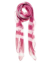 Mangrove - Pink 'Bling' Scarf - Purple - Lyst