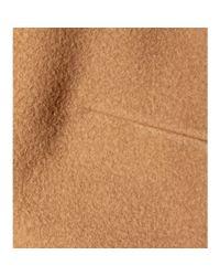 Chloé - Natural Wool-blend Cape - Lyst