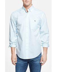 Vineyard Vines - Blue 'tucker - Tiverton Check' Classic Fit Sport Shirt for Men - Lyst